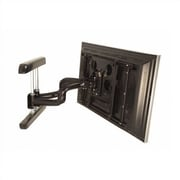 Chief PNR Dual Articulating Arm/Tilt/Swivel Universal Wall Mount for Plasma/LCD; Black