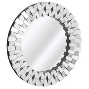 Majestic Mirror Contemporary Round Wall Mirror