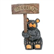 RAM Game Room ''Welcome'' Bear Statue
