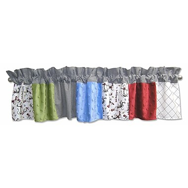 Trend Lab Dr. Seuss Cat in the Hat 82'' Curtain Valance