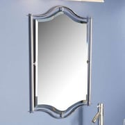 Quoizel Demitri Wall Mirror; Polished Chrome