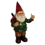 Michael Carr Hitchhiker Gnome Statue