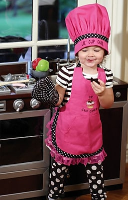Manual Woodworkers Weavers Lil Cupcake Chef Apron Set of 3