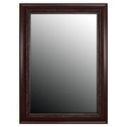 Second Look Mirrors Birds Eye Cherry with Gold Accents; 43'' H x 31'' W