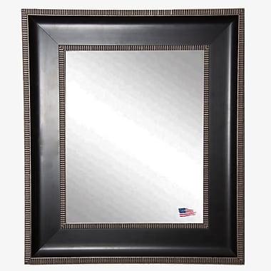 Rayne Mirrors Ava Dark Parma Wall Mirror; 35.25'' H x 29.25'' W x 2'' D