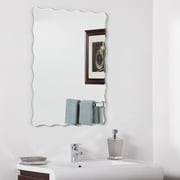 Decor Wonderland Angelina Modern Wall Wall Mirror