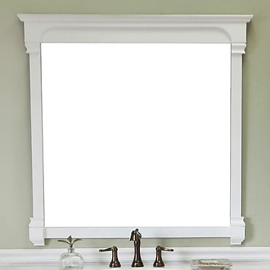 Bellaterra Home Crestwood Mirror; Cream White