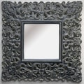 Imagination Mirrors The Otter Square Framed Mirror
