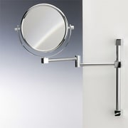 Windisch by Nameeks Wall Mounted Double Face Magnifying Mirror; Gold