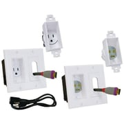 Midlite Decor In Wall Power Solution Kit