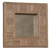 Linon Mosaic Coco Stick Square Mirror