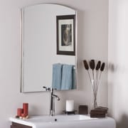 Decor Wonderland Frameless Ella Wall Mirror