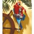Design Toscano Tropical Scarlet Macaws Wall Decor