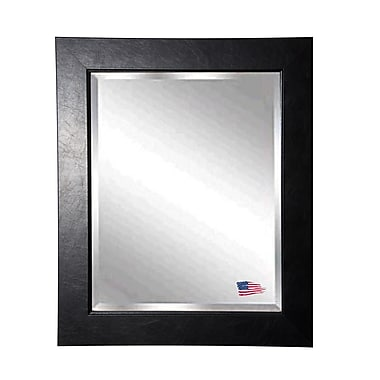 Rayne Mirrors Jovie Jane Black Superior Wall Mirror; 37'' H x 33'' W x 0.75'' D
