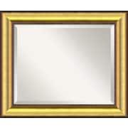 Amanti Art Vegas Wall Mirror; Medium
