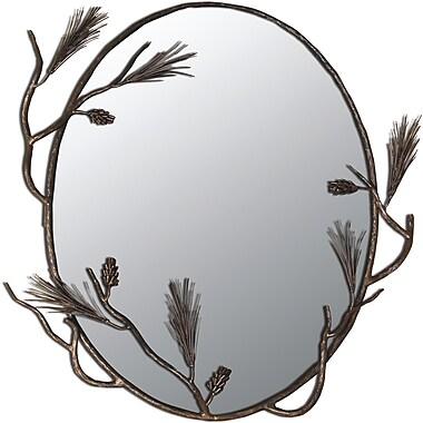 Quiescence Pine Mirror; Oil Rubbed Bronze