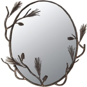 Quiescence Pine Mirror; Oil Rubbed Bronze