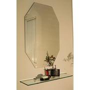 Spancraft Glass Regency Frameless Mirror; 30'' H x 20'' W
