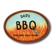 RAM Game Room ''Dad's BBQ'' Outdoor Sign