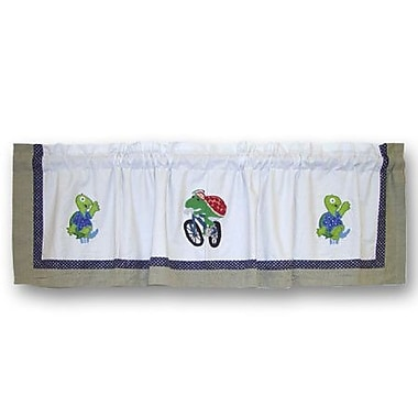 Patch Magic Green Scene 54'' Curtain Valance