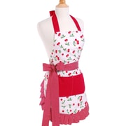 Flirty Aprons Women's Apron in Very Cherry