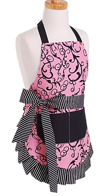 Flirty Aprons Girl s Apron in Chic Pink