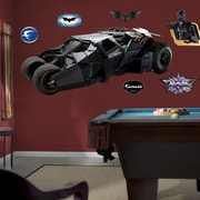 Fathead Super Heroes The Dark Knight Batmobile Wall Decal