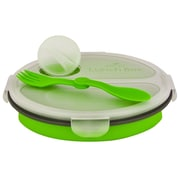 Smart Planet Eco 36-oz. Collapsible Lunch Box; Green