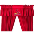 Sports Coverage MLB 88'' Curtain Valance; St. Louis Cardinals