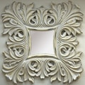 Imagination Mirrors Joan of Arc Square Framed Mirror