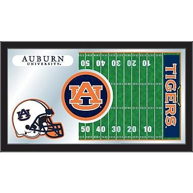 Holland Bar Stool NCAA Football Mirror Framed Graphic Art; Auburn
