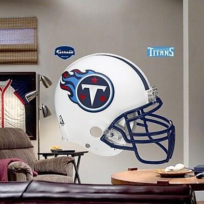 Fathead NFL Helmet Wall Decal; Tennessee Titans WYF078276589215