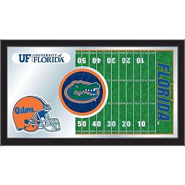 Holland Bar Stool NCAA Football Mirror Framed Graphic Art; Florida