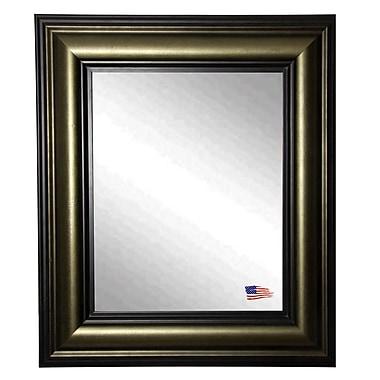 Rayne Mirrors Ava Stepped Vintage Wall Mirror; 39'' H x 33'' W x 1.75'' D