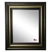 Rayne Mirrors Ava Stepped Vintage Wall Mirror; 42'' H x 36'' W x 1.75'' D