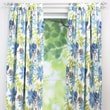 Chooty & Co Monaco Breeze Cotton Tab Top Curtain Single Panel; 108''