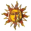 Cape Craftsmen Sun Wall Decor