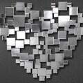 Abbyson Living Pulse Shaped Wall Mirror