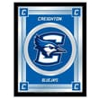 Holland Bar Stool NCAA  Logo Mirror Framed Graphic Art; Creighton