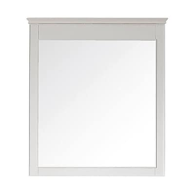 Avanity Windsor Wall Mirror; White