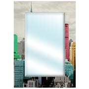 Oriental Furniture Colorful New York City Wall Mirror