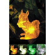 Homebrite Solar Solar Squirrel with Color Change Lighting