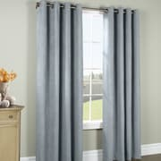 Commonwealth Home Fashions Ripcord Grommet Curtain Single Panel; Blue