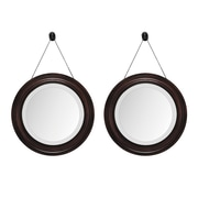 Propac Images Mirror (Set of 2); Brown