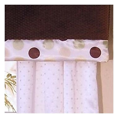 Brandee Danielle Ash Rod Pocket Tailored 53'' Curtain Valance; Lemon