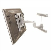 Reaction Series Single Articulating Arm Tilt/Swivel Universal Wall Mount for up to 65'' LCD/Plasma