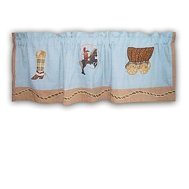 Patch Magic Cowgirl 54'' Curtain Valance