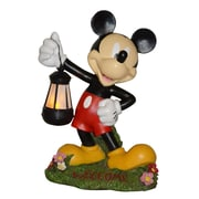 Woods International Disney Mickey Mouse Holding Lantern Statue