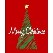 Secretly Designed Christmas Tree Art Print