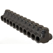 Morris Products Insulated Multi-Cable Connector in Black with Dual Entry 11 Ports 350'' - 6''